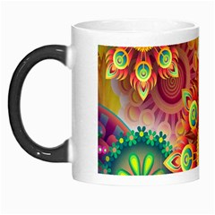 Colorful Abstract Background Colorful Morph Mugs