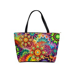 Colorful Abstract Background Colorful Shoulder Handbags