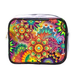 Colorful Abstract Background Colorful Mini Toiletries Bags