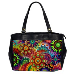 Colorful Abstract Background Colorful Office Handbags