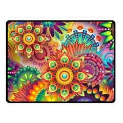 Colorful Abstract Background Colorful Fleece Blanket (small)