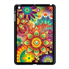 Colorful Abstract Background Colorful Apple Ipad Mini Case (black)