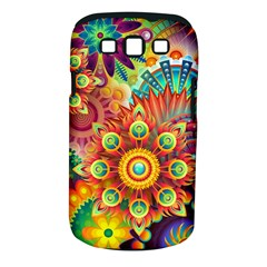 Colorful Abstract Background Colorful Samsung Galaxy S Iii Classic Hardshell Case (pc+silicone)