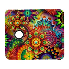 Colorful Abstract Background Colorful Galaxy S3 (flip/folio) by Nexatart