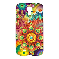 Colorful Abstract Background Colorful Samsung Galaxy S4 I9500/i9505 Hardshell Case