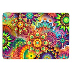 Colorful Abstract Background Colorful Samsung Galaxy Tab 8 9  P7300 Flip Case