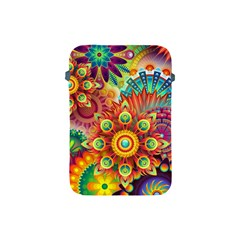 Colorful Abstract Background Colorful Apple Ipad Mini Protective Soft Cases