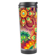 Colorful Abstract Background Colorful Travel Tumbler