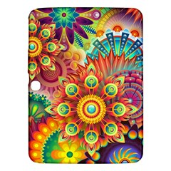 Colorful Abstract Background Colorful Samsung Galaxy Tab 3 (10 1 ) P5200 Hardshell Case