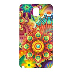 Colorful Abstract Background Colorful Samsung Galaxy Note 3 N9005 Hardshell Back Case