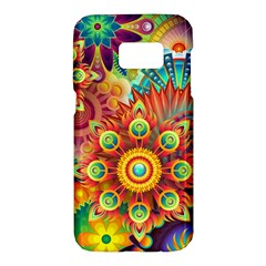 Colorful Abstract Background Colorful Samsung Galaxy S7 Hardshell Case