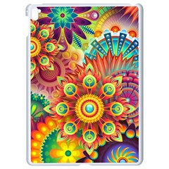 Colorful Abstract Background Colorful Apple Ipad Pro 9 7   White Seamless Case