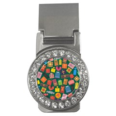 Presents Gifts Background Colorful Money Clips (cz)