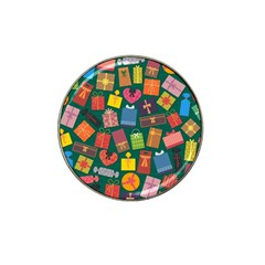 Presents Gifts Background Colorful Hat Clip Ball Marker