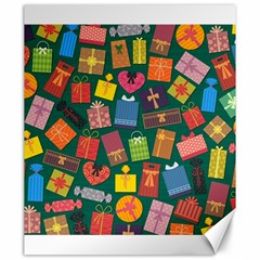 Presents Gifts Background Colorful Canvas 20  X 24