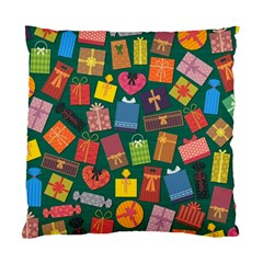Presents Gifts Background Colorful Standard Cushion Case (one Side)