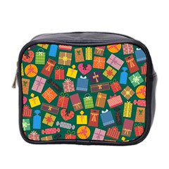 Presents Gifts Background Colorful Mini Toiletries Bag 2 Side