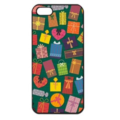Presents Gifts Background Colorful Apple Iphone 5 Seamless Case (black) by Nexatart