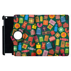 Presents Gifts Background Colorful Apple Ipad 2 Flip 360 Case