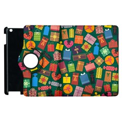 Presents Gifts Background Colorful Apple Ipad 3/4 Flip 360 Case