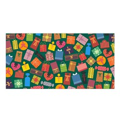 Presents Gifts Background Colorful Satin Shawl
