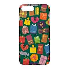 Presents Gifts Background Colorful Apple Iphone 7 Plus Hardshell Case