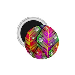 Abstract Background Colorful Leaves 1 75  Magnets