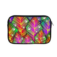 Abstract Background Colorful Leaves Apple Macbook Pro 13  Zipper Case