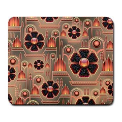 Background Floral Flower Stylised Large Mousepads