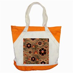 Background Floral Flower Stylised Accent Tote Bag