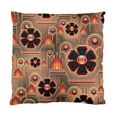 Background Floral Flower Stylised Standard Cushion Case (two Sides)
