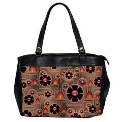 Background Floral Flower Stylised Office Handbags by Nexatart