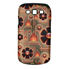 Background Floral Flower Stylised Samsung Galaxy S Iii Classic Hardshell Case (pc+silicone)