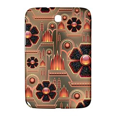 Background Floral Flower Stylised Samsung Galaxy Note 8 0 N5100 Hardshell Case