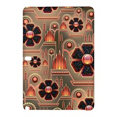 Background Floral Flower Stylised Samsung Galaxy Tab Pro 10 1 Hardshell Case