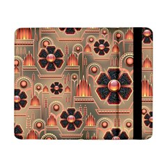 Background Floral Flower Stylised Samsung Galaxy Tab Pro 8 4  Flip Case
