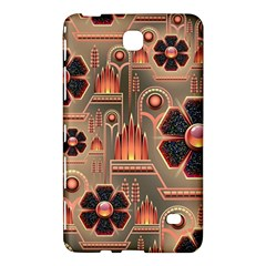 Background Floral Flower Stylised Samsung Galaxy Tab 4 (7 ) Hardshell Case