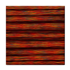 Colorful Abstract Background Strands Tile Coasters