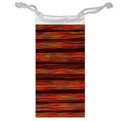 Colorful Abstract Background Strands Jewelry Bag