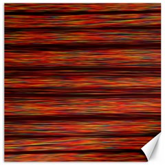 Colorful Abstract Background Strands Canvas 16  X 16