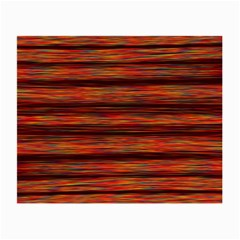 Colorful Abstract Background Strands Small Glasses Cloth (2 Side)