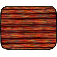 Colorful Abstract Background Strands Fleece Blanket (mini)
