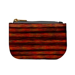 Colorful Abstract Background Strands Mini Coin Purses