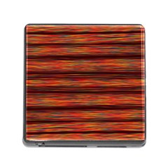 Colorful Abstract Background Strands Memory Card Reader (square)