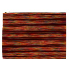 Colorful Abstract Background Strands Cosmetic Bag (xxl)
