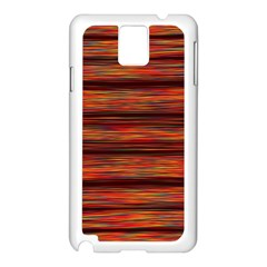 Colorful Abstract Background Strands Samsung Galaxy Note 3 N9005 Case (white)