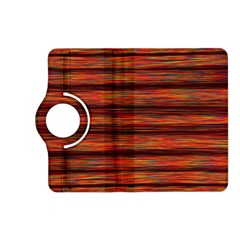 Colorful Abstract Background Strands Kindle Fire Hd (2013) Flip 360 Case