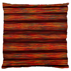 Colorful Abstract Background Strands Large Flano Cushion Case (two Sides) by Nexatart