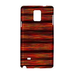Colorful Abstract Background Strands Samsung Galaxy Note 4 Hardshell Case