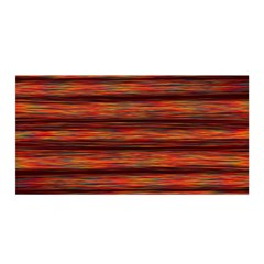 Colorful Abstract Background Strands Satin Wrap